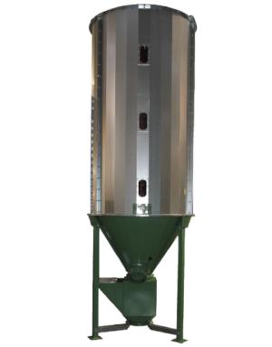 Смеситель для комбикорма вертикальный от компании Экотек технолоджи